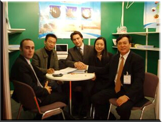 JX Abrasives Participated in Midest Paris, 2005