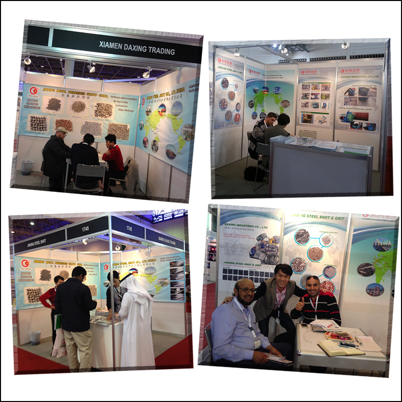 JX Abrasives Participated in SteelFab & Saudi, 2013