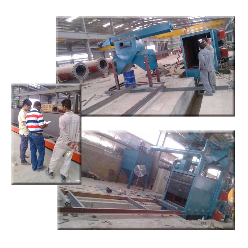 JX Shot Blasting Machine Got Favorable Comment, 2014