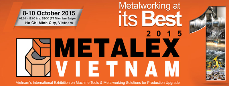 JX Abrasives is Taking Part in Metalex Vietnam 2015
